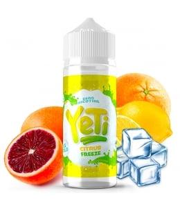 E liquide Citrus Freeze Yeti 100ml