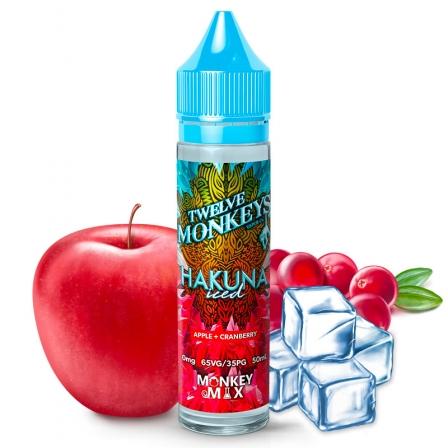 E liquide Hakuna Iced Twelve Monkeys 50ml