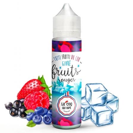 E liquide Fruits Rouges Givré Le Coq Qui Vape 50ml