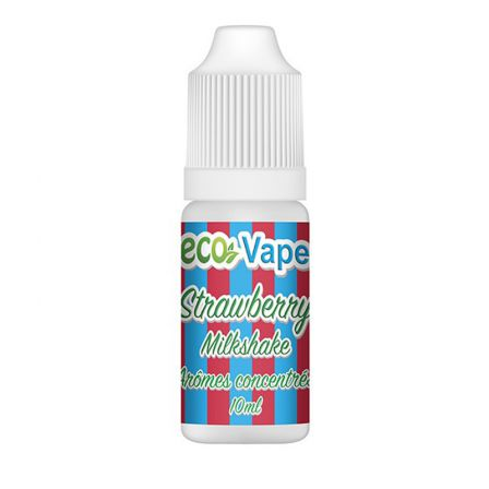 Strawberry Milkshake arôme concentré Eco Vape