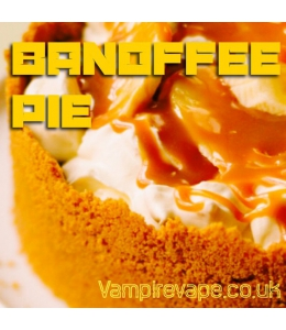 Banoffee pie concentré Vampire Vape