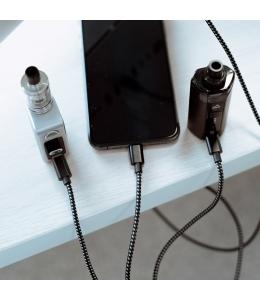 Câble USB 3 en 1 Tressé Nylon We Are Vape