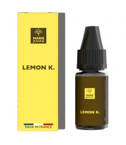 E liquide Lemon Kush CBD Marie Jeanne