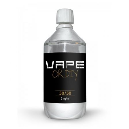 Base DIY 50%PG / 50%VG Vape Or DiY