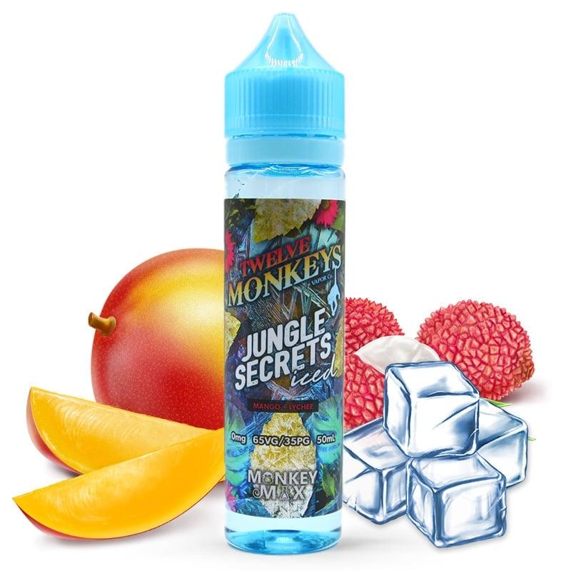 E liquide Jungle Secrets Iced Twelve Monkeys 50ml