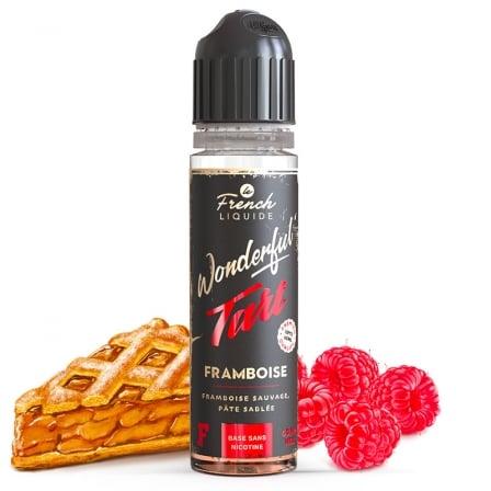 E liquide Framboise Wonderful Tart 60ml