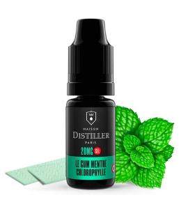 E liquide Le Gum Menthe Chlorophylle Sels de nicotine Maison Distiller | Sel de Nicotine
