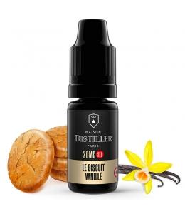 E liquide Le Biscuit Vanillé Sels de nicotine Maison Distiller | Sel de Nicotine