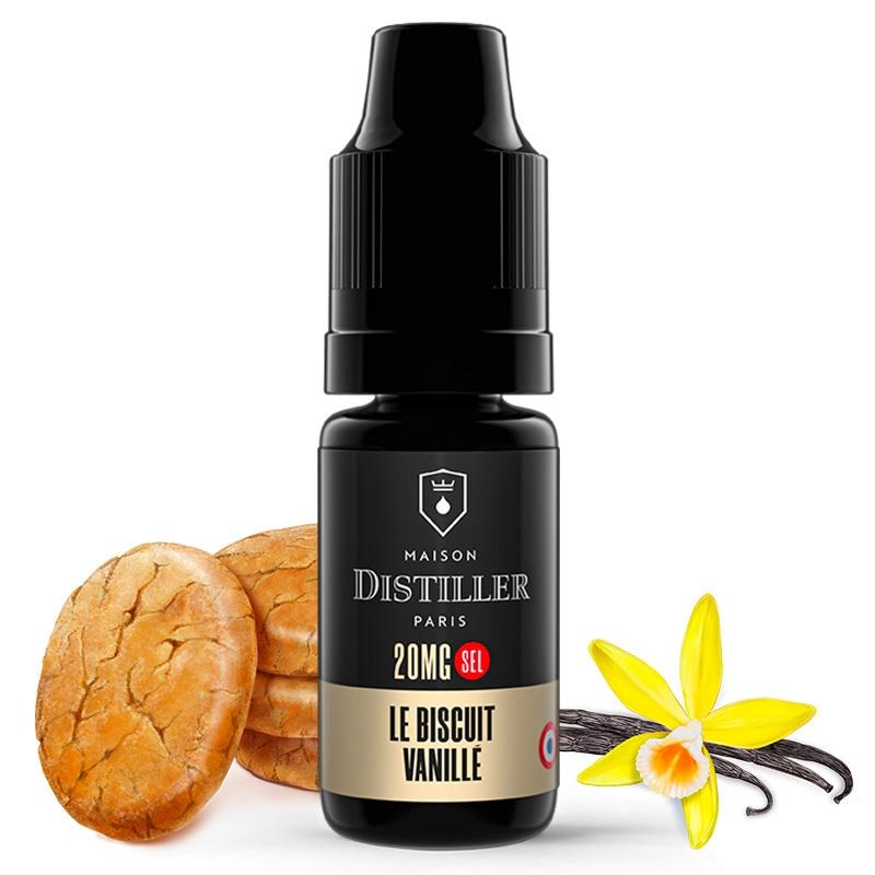E liquide Le Biscuit Vanillé Sels de nicotine Maison Distiller   Sel de Nicotine