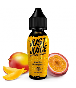 E liquide Mango & Passion Fruit Just Juice 50ml