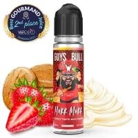 E liquide La crazy tarte fraises Guys & Bull 60ml