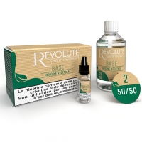 Pack 100 ml Base e liquide DIY Végétale 50/50 Revolute