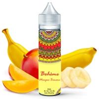 E liquide Mangue Banane Bohème 50ml
