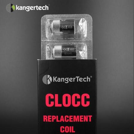 Pack 5 résistances CLOCC Kanger
