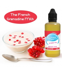 The French Grenadine Milk