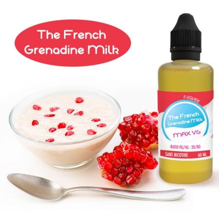 The French Grenadine Milk