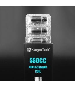 Pack 5 résistances SSOCC Ni200 Kanger