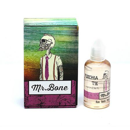 Fuschia Tie Mr Bone