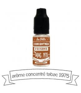 Concentré Tabac 1975 Vincent dans les vapes