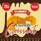 Concentré Chocolate Croissant Yummy Big Mouth
