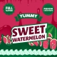 Sweet Watermelon Yummy Big Mouth