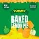 Concentré Baked Lemon Pie Yummy Big Mouth