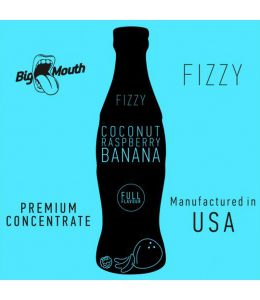 Concentré Coconut Raspberry Banana Fizzy Big Mouth