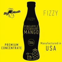 Concentré Pineapple Strawberry Mango Fizzy Big Mouth