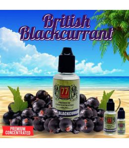 Concentré British Blackcurrant 77 Flavor