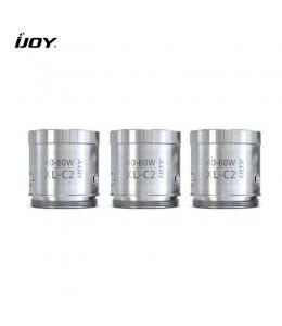 Pack 3 résistances Chip Coil XL C2 iJoy